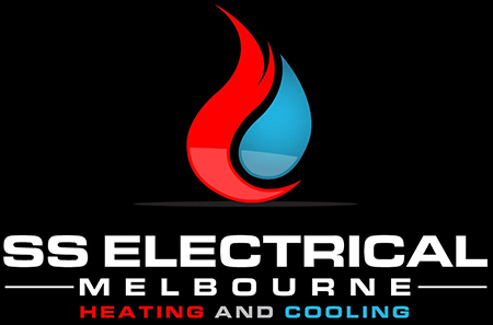 SS Electrical – Heating & Cooling Logo